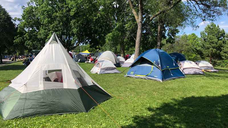 Powderhorn Park Encampment