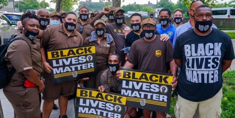 Teamster for Black Lives