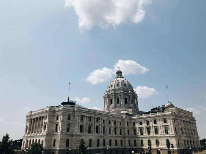 image of the Minnesota state capitol building